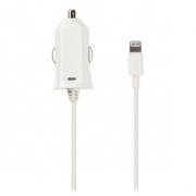 Nabíječka Do Auta 2.1 A Apple Lightning Bílá