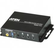 HDMI Převodník VGA (F) / 1x 3.5mm / 1x Koaxiální Audio - HDMI Výstup
