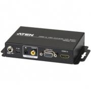 HDMI Převodník HDMI Vstup - VGA (F) / 1x 3.5mm / 1x Koaxiální Audio