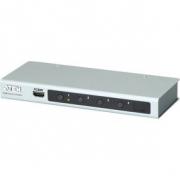 4-Port HDMI Přepínač Stříbrná