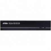 4-Port With Audio Support VGA Rozbočovač Černá