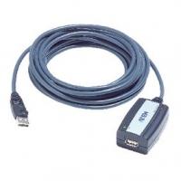 Aktivní Prodlužovací Kabel USB 2.0 USB A Zástrčka - USB A Zásuvka 5 m Šedá