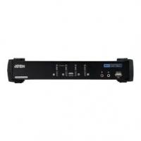 4-Port KVM Switch Černá