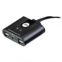 2-Port USB Přepínač Černá