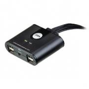 4-Port USB Přepínač Černá