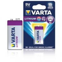 Lithiová Baterie 9V 9 V 1-Blistr