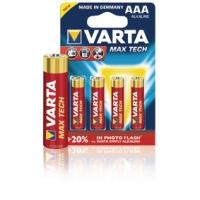 Alkalická Baterie AAA 1.5 V Max Tech 4-Blistr