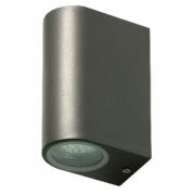 LED Venkovní Nástěnné Svítidlo 6 W 330 lm Tmavě šedá