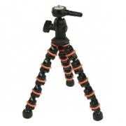 Flexibilní Stativ 28.5 cm 1 kg Černá/Oranžová