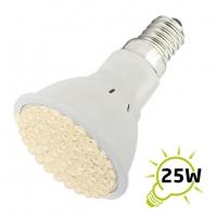Žárovka LED E14/230V (60LED-H) 3W - bílá teplá