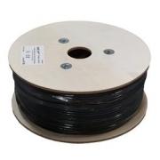 Kabel LEXI UTP CAT 5e 24AWG venkovní dvouplášť PVC+PE černý 305m