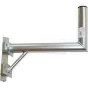 Držák antény 35cm s vinklem a vzpěrou, (na stožár 25-89mm), trubka 42/2mm, zinek Žár