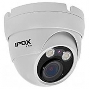 3 Mpix IP DOME kamera IPOX PX-DVI3002-P (H.264, PoE, IR do 30m, 2.8-12mm)