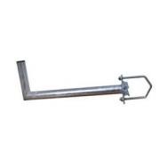 Držák antény 50cm, s vinklem (na balkón 25-89mm), trubka 42/2mm, zinek Galva