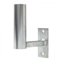 Držák antény Nanostation 10cm s pásem, trubka 42/2mm, zinek Galva