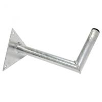 Držák antény malý 25cm s trojhelníkem, trubka 28/2mm, zinek Žár