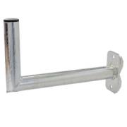 Držák antény 50cm, se svařencem PROFI, (na balkón 25-89mm), trubka 42/2mm, zinek Žár