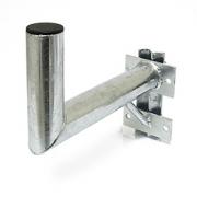 Držák antény 35cm s vinklem a vzpěrou, (na stožár 25-89mm), trubka 60/2mm, zinek ŽÁR