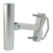 Držák antény jednoramený  UNI V+H 15cm s pásem + třmen, trubka 35/2mm, zinek Galva