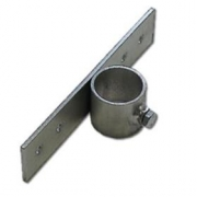Držák stožáru 48mm (delší pás) zinek Galva