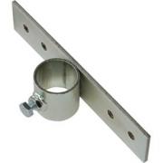 Držák stožáru 42mm (delší pás) zinek Žár