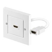 HDMI zásuvka - jednoduchá Premium