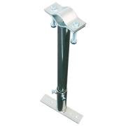 Držák stožáru 42-80mm s pásem (výsuvný 61-77cm), zinek Žár