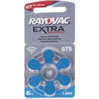 Baterie do naslouchadel RAYOVAC H675MF, blistr