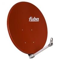 Parabola 100cm Al FUBA - červená