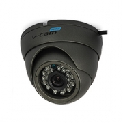 2 Mpix HD-TVI DOME kamera V-CAM 360 (1080p, 3.6 mm, 0.01 lx, IR do 20m)