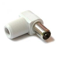 IEC konektor (kolík) - ALCAD (rohový)