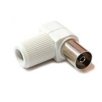 IEC konektor (dutinka) - ALCAD (rohový)