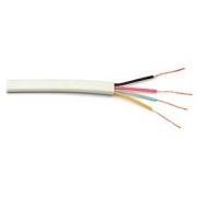 Telefonní kabel 4 žilový ( plochý ) - 100m