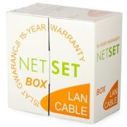 Kabel FTP Cat5e PVC NETSET (vnitřní) [305m]