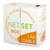 Kabel UTP Cat5e PVC NETSET (vnitřní) [305m]