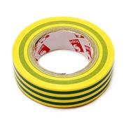 Izolační páska 15mm x 10m - zeleno / žlutá
