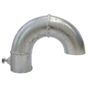 Koleno pro kabely na stožár 42-48 mm - žár