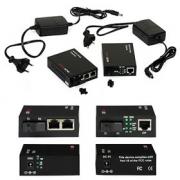 Ethernet Media Konverter ULTIMODE M-407M-2 (jedno SM vlákno do 40km, 2p switch)