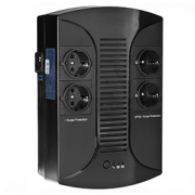 Záložní napájecí zdroj UPS - EAST 650-LED (650VA/390W) Line Interactive