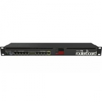 MikroTik RouterBOARD RB2011UiAS-RM with 1U rackmount case and power supply (RouterOS L5)