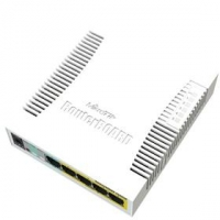 MikroTik Cloud Smart Switch CSS106-1G-4P-1S (RB260GSP), SwOS