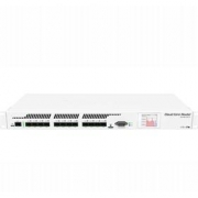 MikroTik Cloud Core Router, CCR1016-12S-1S+, 2GB RAM, 12x SFP cages,1x SFP+, Level6, RM1U, LCD, Dual PSU