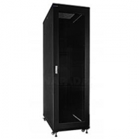 "19"" Rack skříň S6842DP (42U 600x800mm, pojízdná,matná, perforované dveře)"
