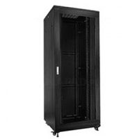 "19"" Rack skříň S8842DP (42U 800x800mm, pojízdná,matná,perforované dveře)"