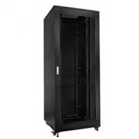 "19"" Rack skříň S8142DP (42U 800x1000mm, pojízdná,matná,perforované dveře)"