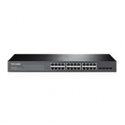 TP-Link T1600G-28TS - 28-port Pure-Gigabit Smart Switch, 24x GLAN, 4x SFP