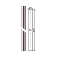 Stožár anténní 2,5 metru, 40/2mm, AL