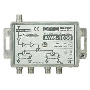 Anténní zesilovač AWS-1036 (47-862MHz, 4x výstup)
