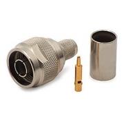 Konektor N/male - krimpovací na kabel H-500/1000