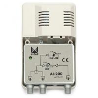 Vnitřní zesilovač Alcad AI-200 (FM/VHF/UHF - 24 dB)